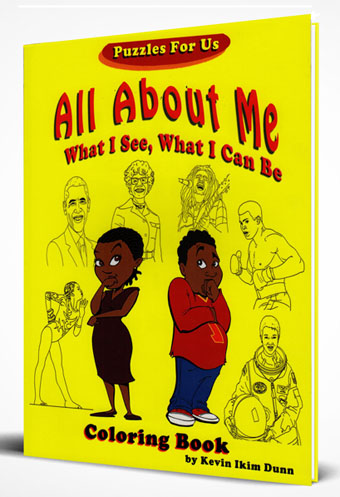 All About Me Coloring Book